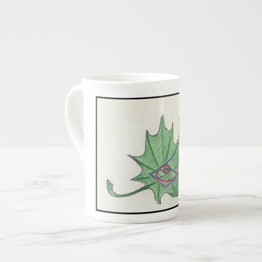 Fibonacci Leaf Mug. Tea Cup