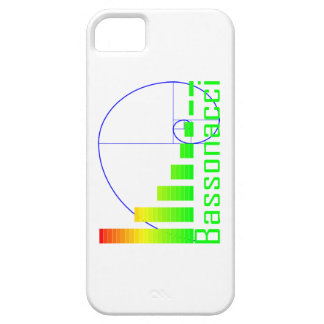 Fibonacci Math Bassonacci iPhone 5 Case blue