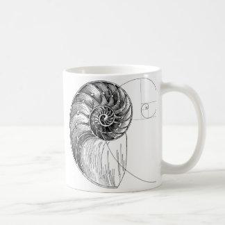 Fibonacci Basic White Mug