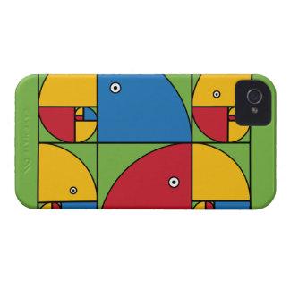 Fibonacci Parrots iPhone 4 Cover