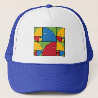 Fibonacci Parrots Trucker Hat