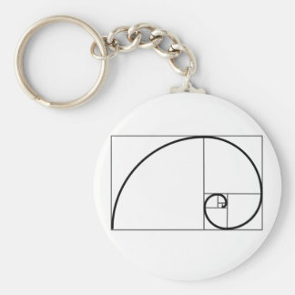 Fibonacci Ratio Key Ring