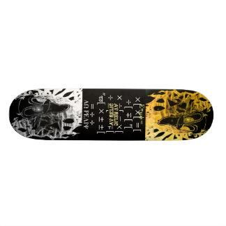 Fibonacci Sequence 20.6 Cm Skateboard Deck