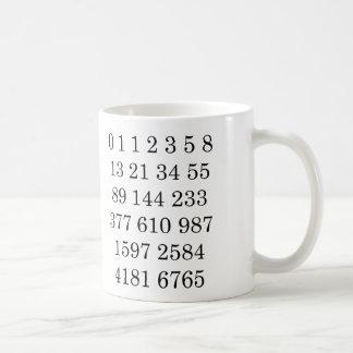 Fibonacci Sequence Mug Custom Gift for Math lover