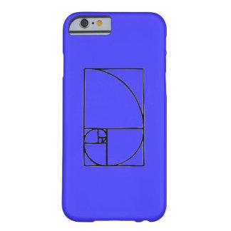 fibonacci spiral barely there iPhone 6 case