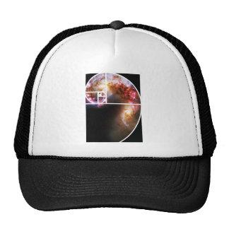 Fibonacci Spiral Galaxy Cap