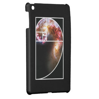 Fibonacci Spiral Galaxy Case For The iPad Mini