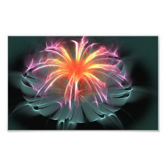 Fibre Optic Flower (wide) Art Photo