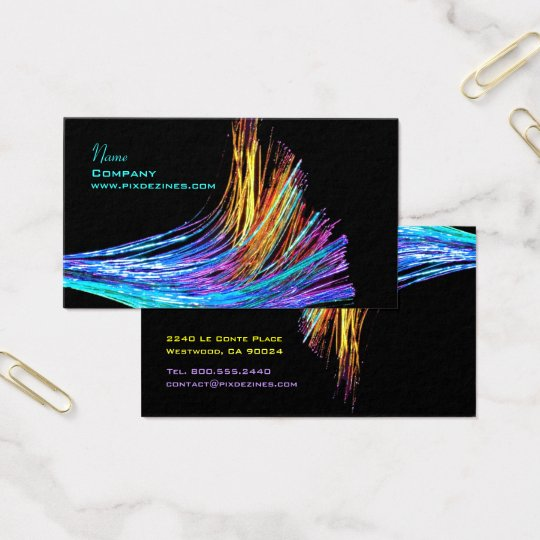 Fibre Optics / Hi Tech Business Card