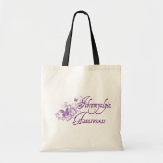 Fibro Awareness Budget Tote Bag