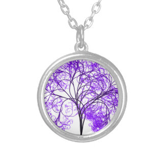 Fibro Awareness Day 2014 Silver Plated Necklace