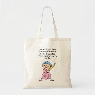 Fibro Frieda cartoon character Budget Tote Bag