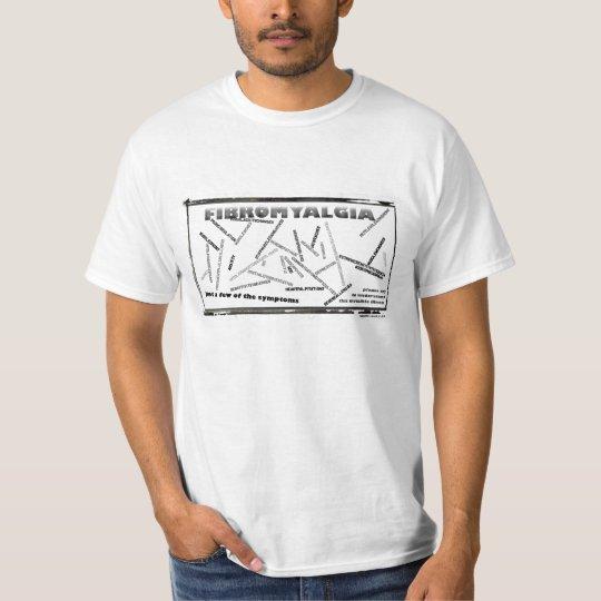 fibro symptoms t-shirt
