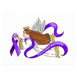 Fibromyalgia Angel Postcard