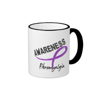 Fibromyalgia Awareness 3 Ringer Coffee Mug