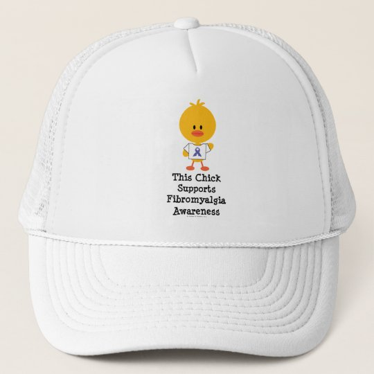 Fibromyalgia Awareness Chick Hat