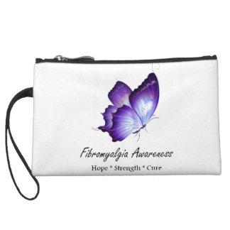Fibromyalgia Awareness custom clutch