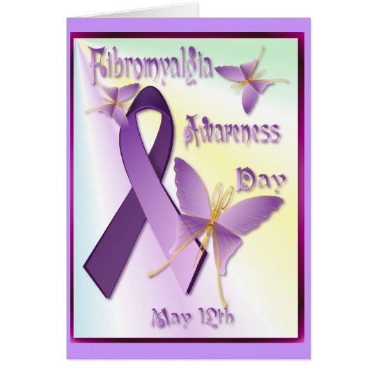 Fibromyalgia Awareness Day Card