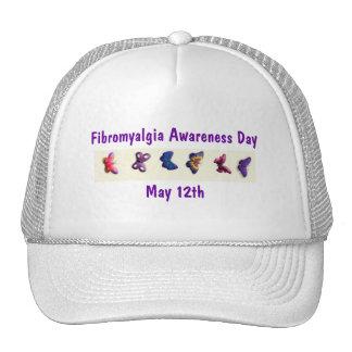 Fibromyalgia Awareness Day, May 12th-Hat Cap