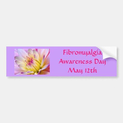 Fibromyalgia Awareness DayMay 12th Bumper Sticker