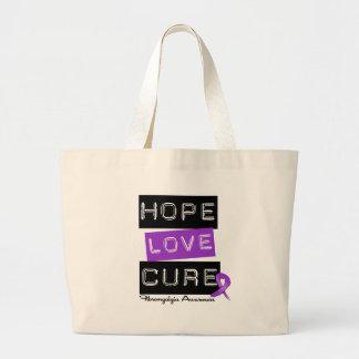 Fibromyalgia Awareness Hope Love Cure Bags