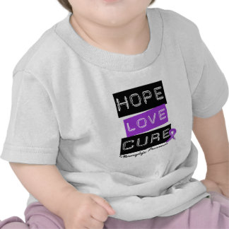 Fibromyalgia Awareness Hope Love Cure Tee Shirts
