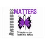 Fibromyalgia Awareness Matters Postcard