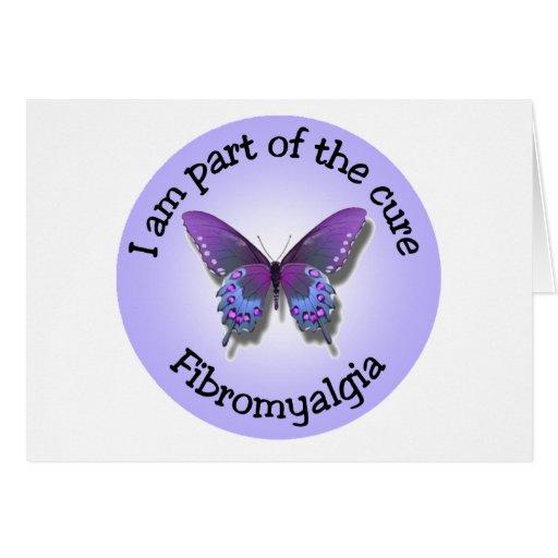 Fibromyalgia Awareness notecard Cards