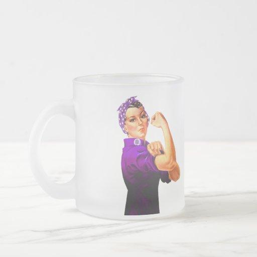 Fibromyalgia Awareness Rosie the Riveter Coffee Mug