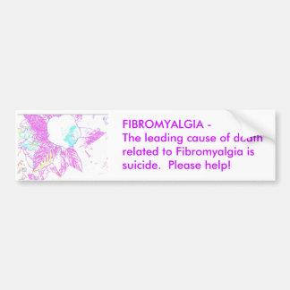 Fibromyalgia Bumper Sticker