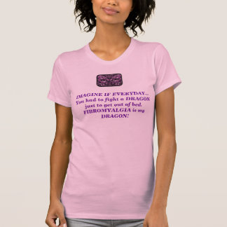 Fibromyalgia Dragon Tee Shirt