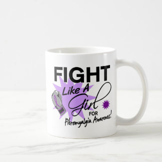 Fibromyalgia Fight Like A Girl 11 3 Coffee Mug