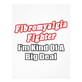 Fibromyalgia Fighter...Big Deal 21.5 Cm X 28 Cm Flyer