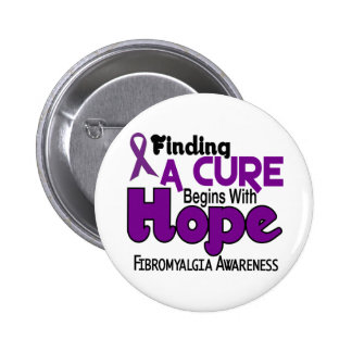 Fibromyalgia HOPE 5 6 Cm Round Badge