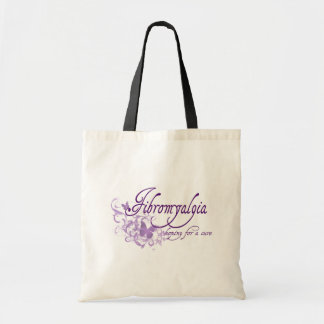 Fibromyalgia, Hoping for a cure Budget Tote Bag