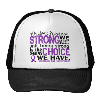 Fibromyalgia How Strong We Are Cap