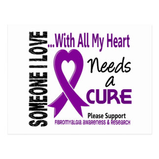 Fibromyalgia Needs A Cure 3 Postcard
