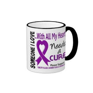 Fibromyalgia Needs A Cure 3 Ringer Mug
