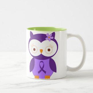 Fibromyalgia Owl Coffee Mug