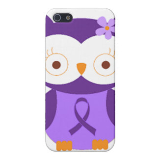 Fibromyalgia Owl Cover For iPhone 5/5S