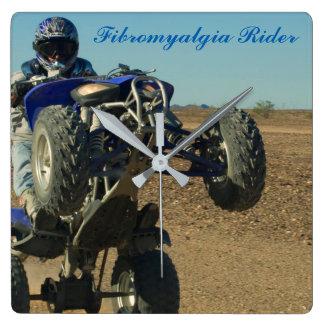 Fibromyalgia Rider Clock