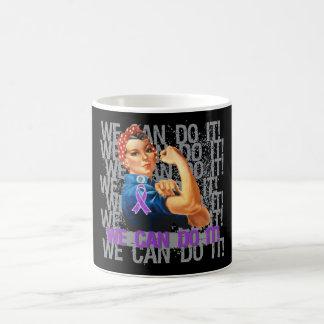 Fibromyalgia Rosie WE CAN DO IT Basic White Mug