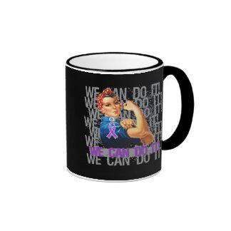 Fibromyalgia Rosie WE CAN DO IT Ringer Mug