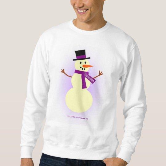 Fibromyalgia snowman shirt