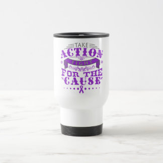 Fibromyalgia Take Action Fight For The Cause Mugs