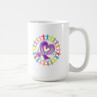 Fibromyalgia Unite in Awareness Basic White Mug