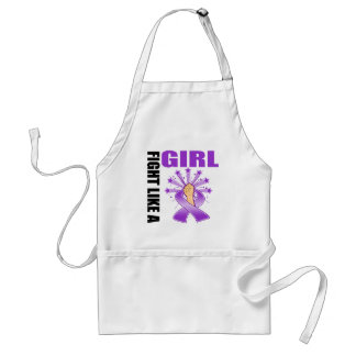 Fibromyalgia Victory Fight Like A Girl Standard Apron