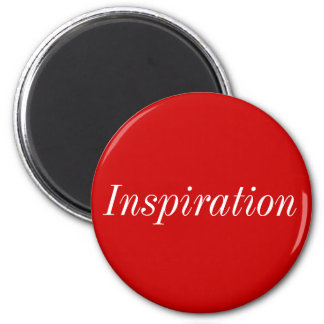 Ficly inspiration 6 cm round magnet