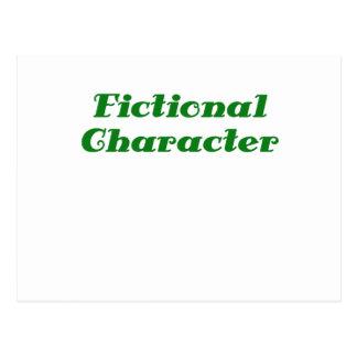 Fictional Character Postcard