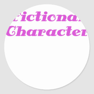Fictional Character Stickers